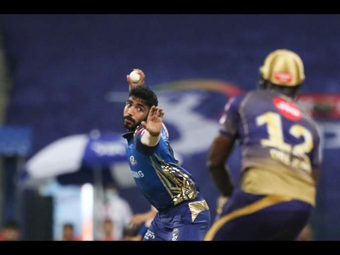 MI vs KKR Latest News :Mumbai Indians register first win in IPL 2020, beat KKR by 49 runs | MI vs KKR Latest News : रोहित शर्माची फटकेबाजी, मुंबई इंडियन्सनं उघडले विजयाचे खाते