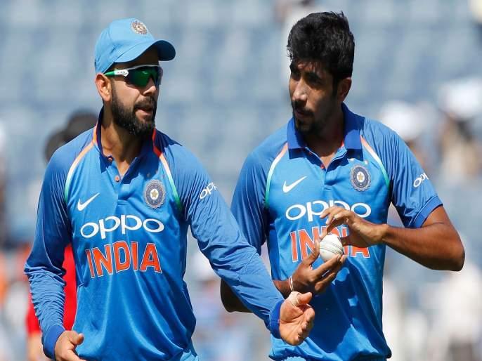 ICC World Cup 2019: Good news for India; Virat Kohli, Jasprit Bumrah on top in ICC ODI Ranking | ICC World Cup 2019 : भारतासाठी खूशखबर; विराट कोहली, जसप्रीत बुमराह यांचाच अव्वल नंबर