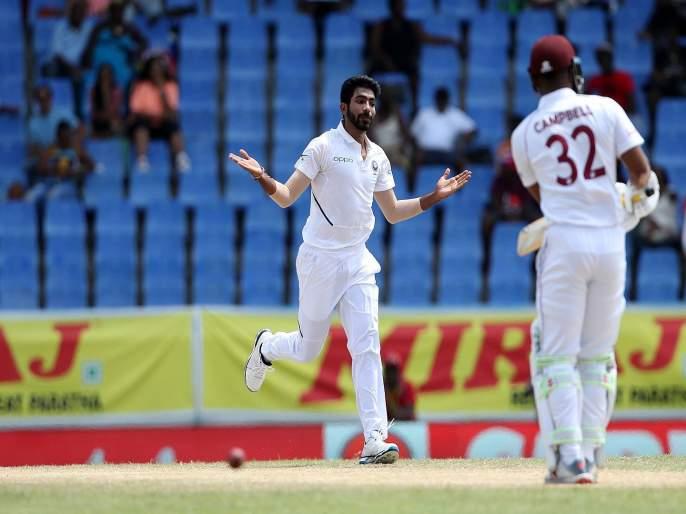 India vs West Indies, 1st Test : Jasprit Bumrah is the first asian bowler to completes a unique set of five-wicket hauls | India vs West Indies, 1st Test : बूम बूम बुमराह; भारतीय गोलंदाजाचा विश्वविक्रम, कोणलाही जमला नाही असा पराक्रम