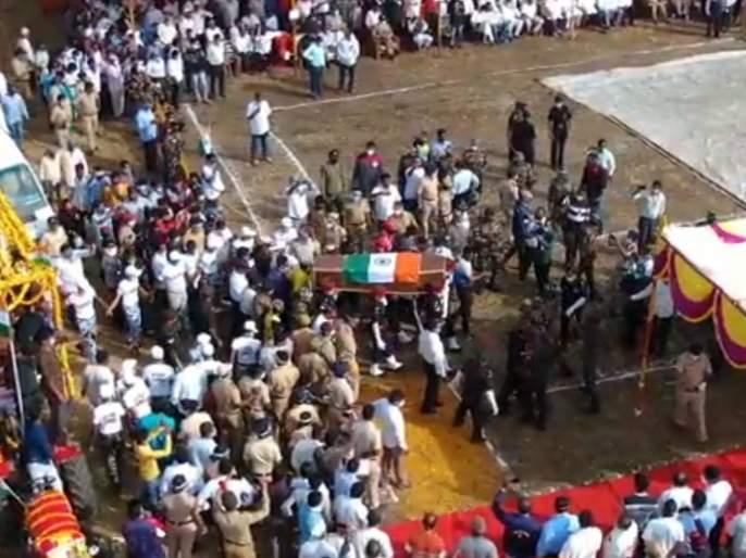 jalgaon jawan yash deshmukh martyred in terrorist attack in srinagar | 'यश देशमुख अमर रहे...'; महाराष्ट्राच्या वीरपुत्राला निरोप देण्यासाठी लोटला जनसागर