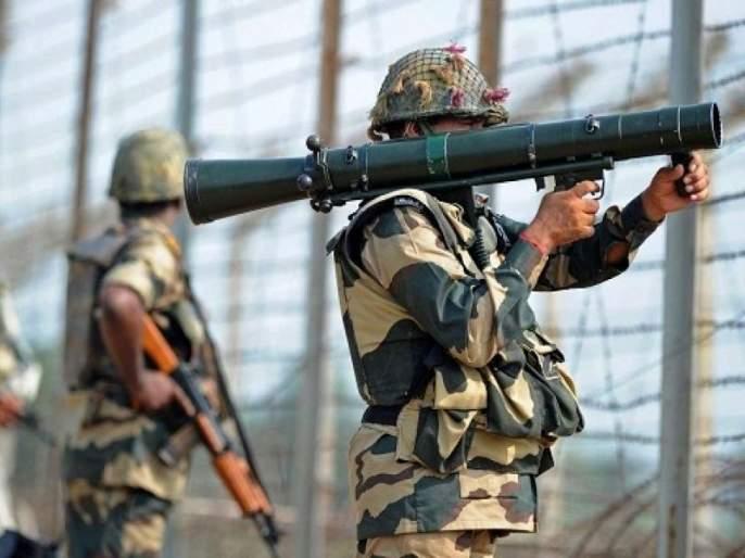 Kupwara : 2 terrorists killed in an encounter that broke out between terrorists and security forces at Guloora area of Handwara   Jammu Kashmir : हंदवाडामध्ये जवान आणि दहशतवाद्यांमध्ये चकमक, 2 दहशतवाद्यांचा खात्मा