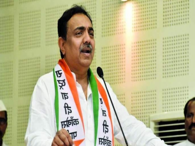 Lok Sabha elections 2019 - NCP Jayant Patil Criticize on BJP | 'राम मंदिर बाजूला राहिले, मात्र भाजपाचे टोलेजंग कार्यालय झाले'