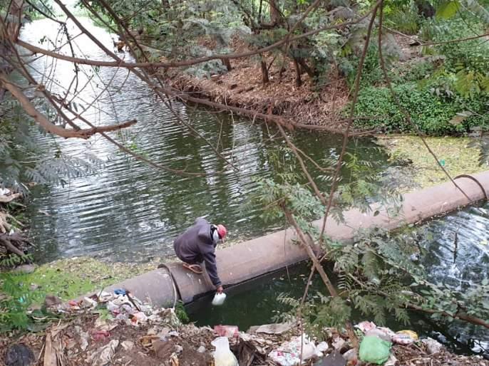 Sewage from 11 Nala still flows directly into Panchganga river | ११ नाल्यातील सांडपाणी आजही थेट पंचगंगा नदीतच