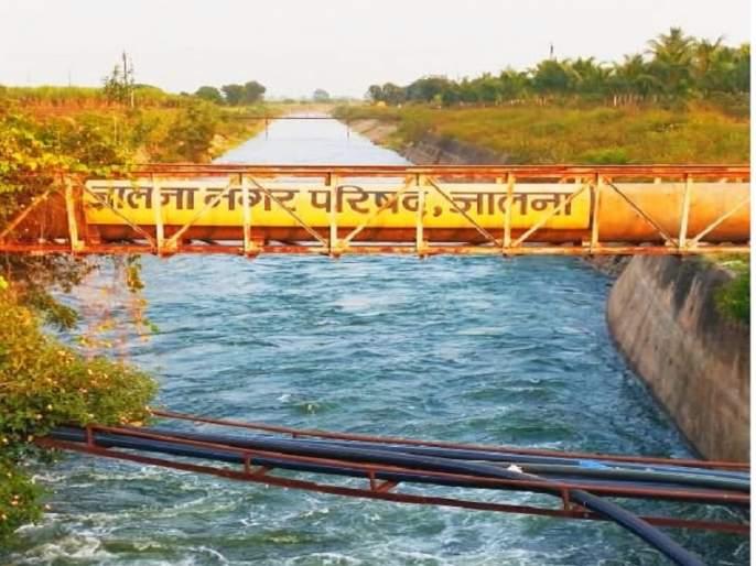 Consolation to farmers! Discharge of 700 cusecs from the left canal of Jayakwadi dam for rabi season   शेतकऱ्यांना दिलासा ! रबी हंगामासाठी जायकवाडी धरणाच्या डाव्या कालव्यातून ७०० क्युसेकचा विसर्ग