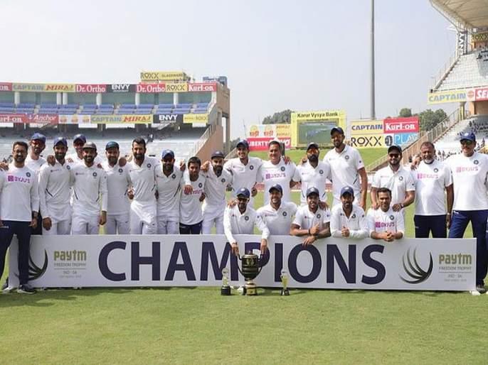 Series win on the strength of team performance | सांघिक कामगिरीच्या जोरावर मिळविला मालिका विजय