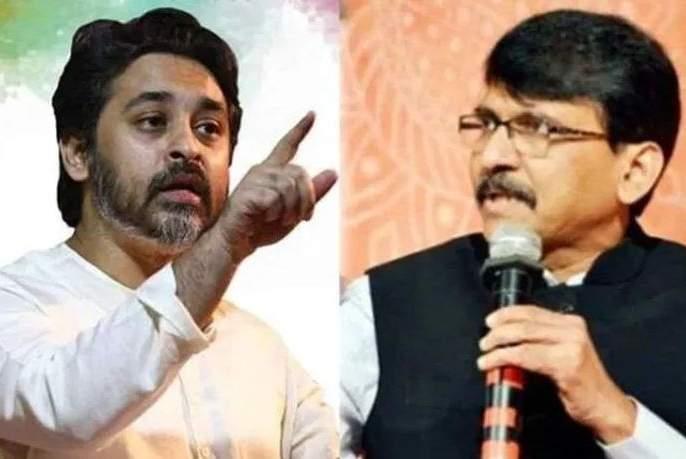 Shiv Sena will hold Sanjay Raut; Nilesh rane attack in twitter | महाराष्ट्र निवडणूक 2019: शिवसैनिकच संजय राऊत यांना धरुन चोपेल; निलेश राणेंचा हल्लाबोल