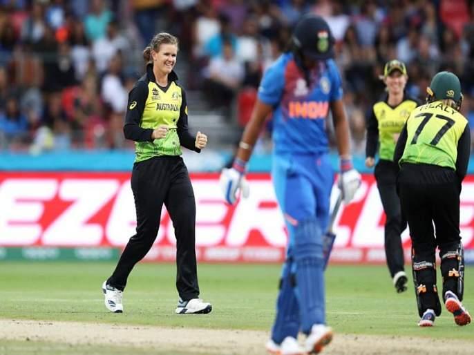 Women's T20 World Cup, India vs. Aus : India challenge Australia by 133 runs | Women's T20 World Cup, India vs. Aus: दीप्ती शर्माची झुंज; भारताचे ऑस्ट्रेलियाला 133 धावांचे आव्हान