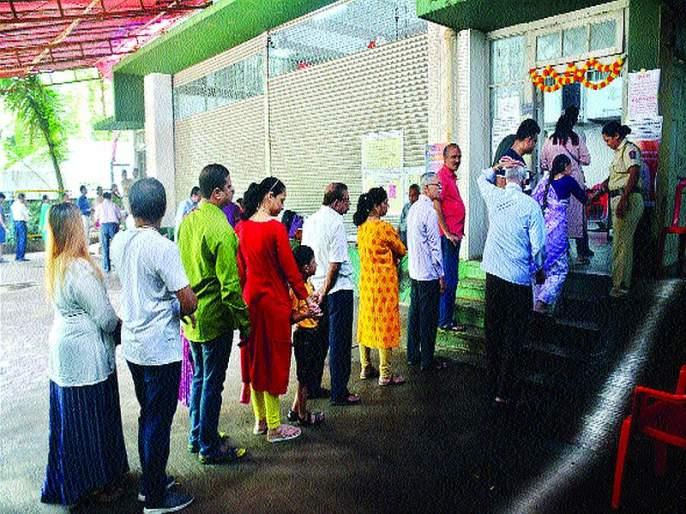 Maharashtra Election 2019: The fate of five candidates closes in the ballot | पाच उमेदवारांचे भवितव्य मतपेटीत बंद