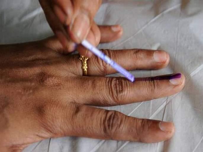 64% voting nagothane city   नागोठणे शहरात ६४ टक्के मतदान