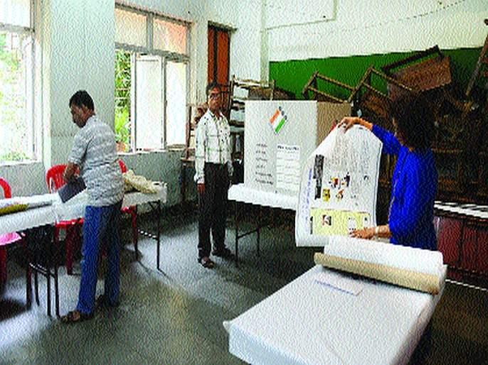 Maharashtra Election 2019: Mumbai, Thane ready for voting; Attention also to the battles in Palghar, Raigad | Maharashtra Election 2019 : मतदानासाठी मुंबई, ठाणे सज्ज; पालघर, रायगडमधील लढतींकडेही लक्ष