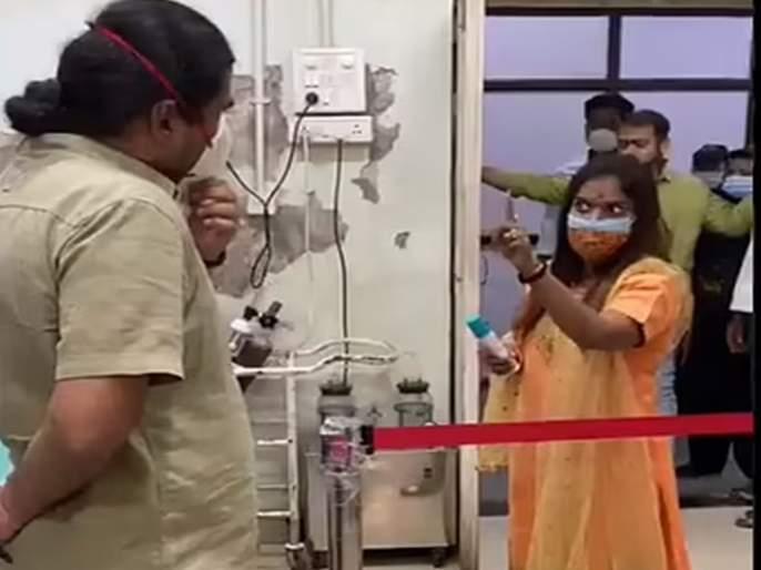 Shiv Sena corporator's apology   शिवसेना नगरसेविकेचा माफीनामा