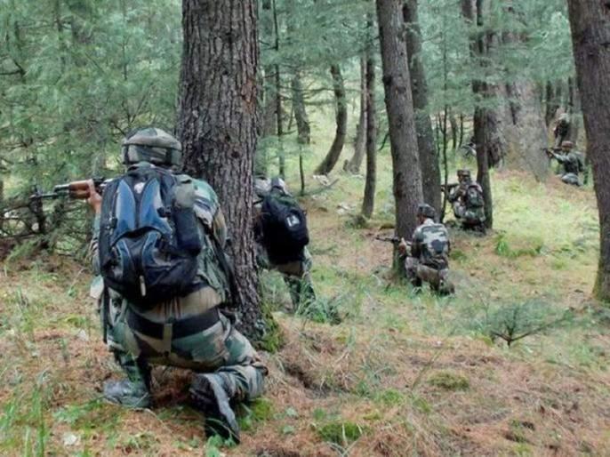 Security Forces Eliminate 2 Terrorists During Encounter In South Kashmir's Awantipora   Jammu And Kashmir : अवंतीपूरा चकमकीत दोन दहशतवाद्यांचा खात्मा, एक जवान शहीद