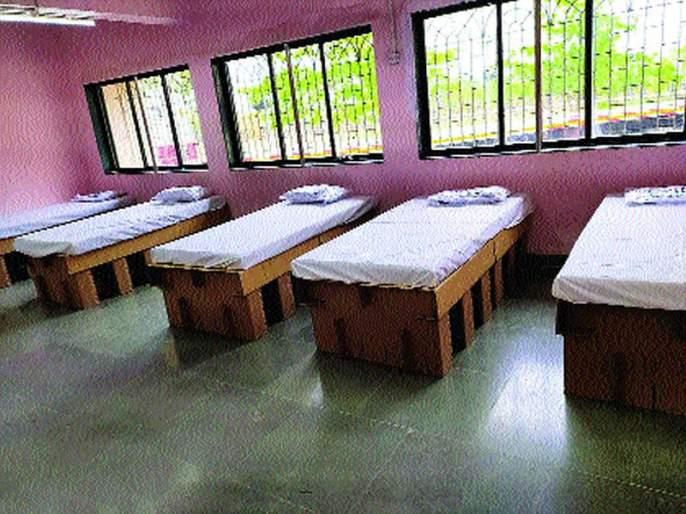 120 bed covid care center in Uran through JNPT | जेएनपीटीच्या माध्यमातून उरणमध्ये १२० खाटांचे कोविड केअर सेंटर