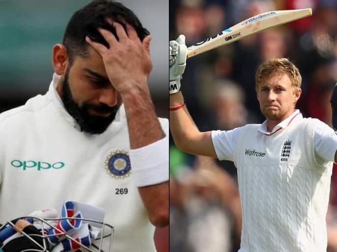 SLVENG: Virat Kohli's unique record was broken by England's captain joe root   SL Vs ENG : इंग्लंडच्या कर्णधाराने मोडला विराट कोहलीचा अनोखा विक्रम