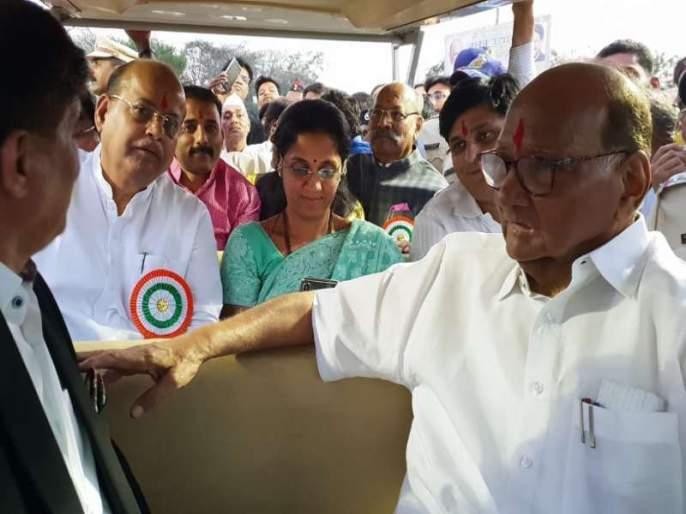 'Thank you for the cooperation of Sharad Pawar, Cong lok sabha candidate from Pune mohan joshi | 'शरद पवारांचे सहकार्य तर काँग्रेसचे आभार, पुण्यातील निवडीनंतर बोलले लोकसभा उमेदवार'