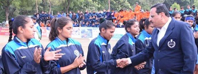 West Division Inter-University Women Kabaddi Tournament start | पश्चिम विभाग आंतरविद्यापीठ महिला कबड्डी स्पर्धेला प्रारंभ