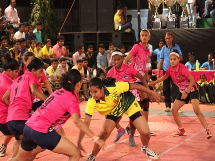 Kabaddi: Satyam, Uttarkash teams reached the semifinals | कबड्डी : सत्यम, उत्कर्ष, संघर्ष या संघांनी उपांत्य फेरी गाठली