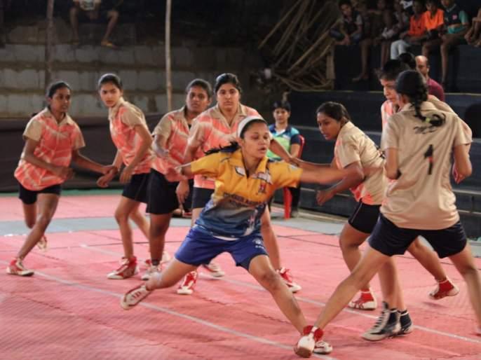 Kabaddi: sankalpa and sangharsha team won their first matches | कबड्डी : संकल्प, संघर्ष संघांची विजयी सलामी