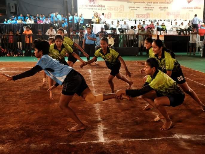 sangharsha Sports club enter third round | कबड्डी : संघर्ष स्पोर्ट्स तिसऱ्या फेरीत दाखल
