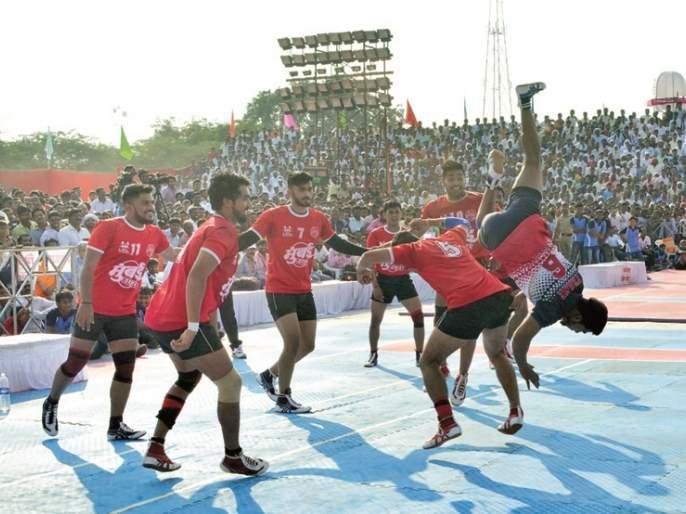 National Kabaddi: Maharashtra won opening match | राष्ट्रीय कबड्डी : महाराष्ट्राच्या पुरुषांची विजयी सलामी
