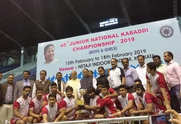 National Kabaddi: Maharashtra boys team crashed in semi-finals | राष्ट्रीय कबड्डी : महाराष्ट्राचा कुमार संघ उपांत्य फेरीत गारद