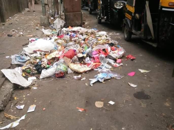 Waste Removal Waste   कचऱ्याचा तिढा कायम जागोजागी कचऱ्याचे ढीग