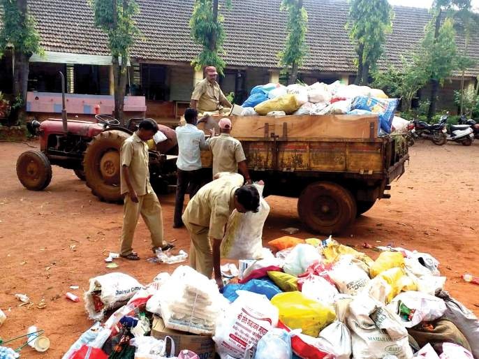Garbage was burnt in the open and a fine of Rs. 200 was imposed | उघड्यावर कचरा जाळला अन् २०० रुपये दंड झाला