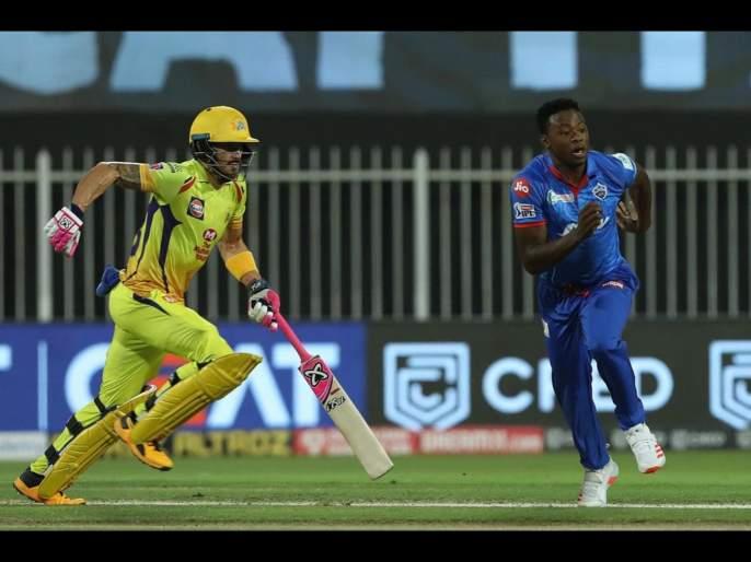 Faf du Plessis becomes 3rd player to score 2000 runs for CSK, Kagiso Rabada becomes the fastest bowler to grab 50 wickets in IPL | CSK vs DC Latest News : फॅफ ड्यू प्लेसिसचा CSKकडून भारी विक्रम, त्याला बाद करून कागिसो रबाडाचा मोठा पराक्रम!