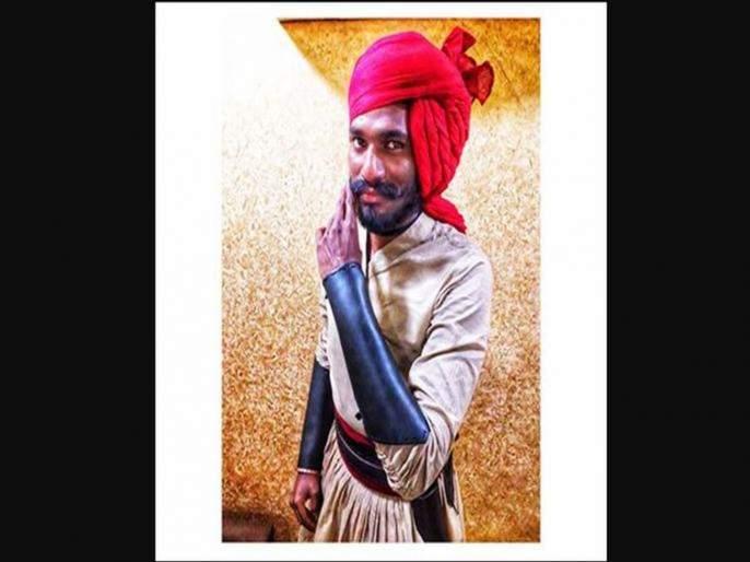 tanhaji the unsung warrior chultya aka kailash waghmare wife is actress meenakshi rathod | तान्हाजी या चित्रपटातील चुलत्या म्हणजेच कैलासची पत्नी आहे ही सुंदर अभिनेत्री