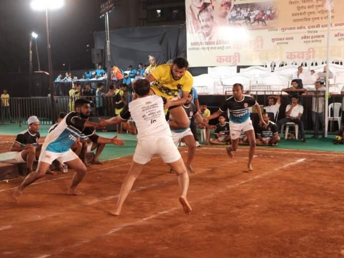 Kabaddi: Om Sai Sports Board in second round   कबड्डी :ओम साई क्रीडा मंडळ दुसऱ्या फेरीत
