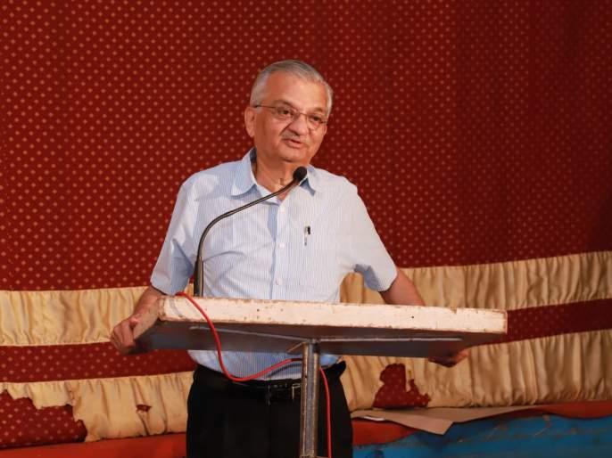 A knowledge bridge should be set up between cities, rural areas to create a prosperous India: Anil Kakodkar | समृद्ध भारत निर्मितीसाठी शहरे , ग्रामीण भाग यांच्यात ज्ञान सेतू उभारावा : अनिल काकोडकर