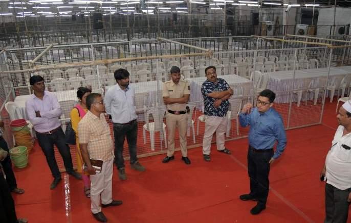 Prepare for counting at Nagpur's Kalamana Center, ready for administration | नागपूरच्या कळमना केंद्रात मतमोजणीची तयारी पूर्ण ,प्रशासन सज्ज