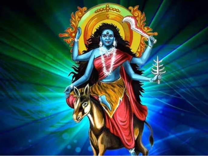 Navratri 2020 :Appearance and majesty of Navdurga: Kalratri   Navratri 2020 :नवदुर्गांचे स्वरूप आणि महात्म्य : सातवी माळ: कालरात्री