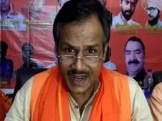 shivsena leader rs 1 crore reward for beheading kamlesh tiwaris killers | कमलेश तिवारींच्या मारेकऱ्यांचा गळा चिरणाऱ्याला 1 कोटींचं बक्षीस; शिवसेना नेत्याची ऑफर