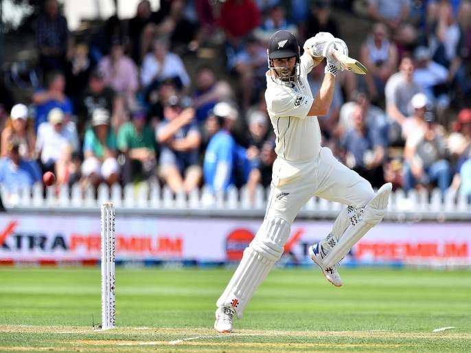 New Zealand vs India 1st Test Live Score Updates, Ind Vs NZ Highlights and Commentary in Marathi   NZ vs IND, 1st Test:न्यूझीलंडकडे आघाडी, खराब विद्युत प्रकाशामुळे दुसऱ्या दिवसाचा खेळ थांबला