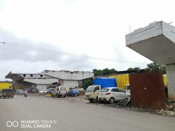 Work on flyover in Kankavali stalled! | कणकवलीतील उड्डाणपूलाचे काम रखडले !