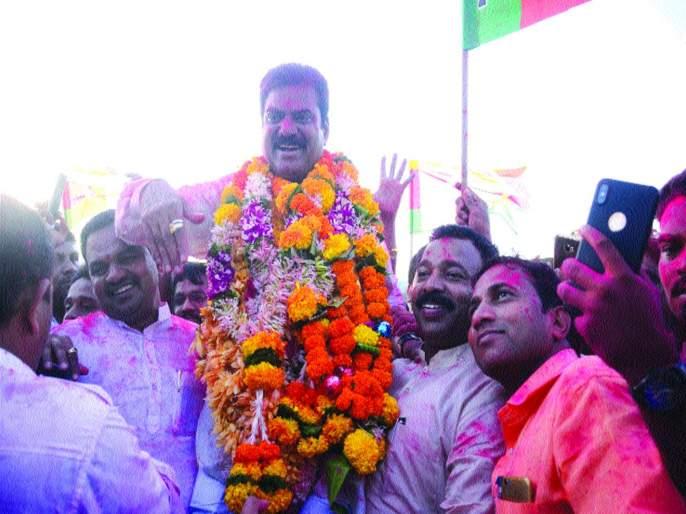 Lok Sabha election result 2019: Kapil Patil win in Bhivandi | लोकसभा निवडणूक निकाल २०१९ : भिवंडीत पुन्हा कमळ फुलले, कपिल पाटील यांचा दणदणीत विजय