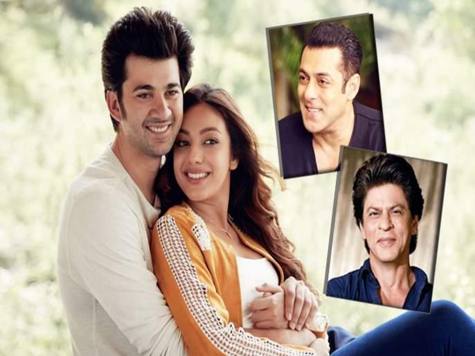 'Pal Pal Dil Ke Paas': Salman Khan and shahrukh khan welcomes Sunny Deol's son Karan Deol to the Indian film industry | सनीचा मुलगा करणचे बॉलिवूड सेलिब्रेटींनी बॉलिवूडमध्ये असे केले स्वागत