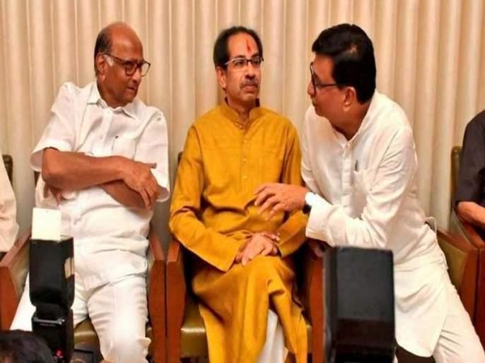 BJP leader Praveen Darekar has said Shiv Sena already had a mindset to merge with Congress and NCP | 'शिवसेनेची काँग्रेस आणि राष्ट्रवादीसोबत हातमिळवणी करण्याची आधीपासूनच मानसिकता होती'