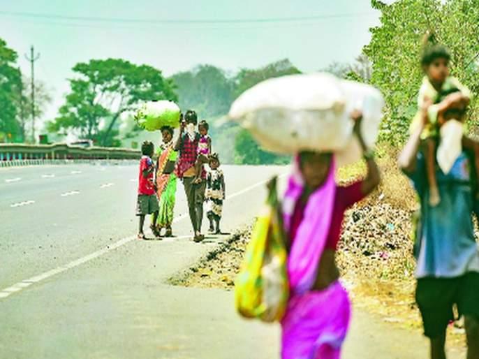 Answer through the Gram Panchayats on the question of 'reverse migration'; The need for urgent measures | 'उलट स्थलांतरा'च्या प्रश्नावर ग्रामपंचायतींच्या माध्यमातून उत्तर; तातडीने उपाययोजनांची गरज