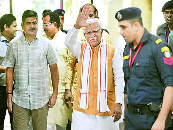 Khattar CM in Haryana; Chautala Deputy Chief Minister | हरयाणात खट्टर मुख्यमंत्री; चौटाला उपमुख्यमंत्री