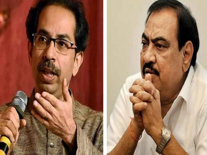 bjp leader eknath khadse to meet cm uddhav thackeray after meeting ncp chief sharad pawar | पवारांच्या भेटीनंतर 'मातोश्री'वर थेट; एकनाथ खडसे घेणार उद्धव ठाकरेंची भेट