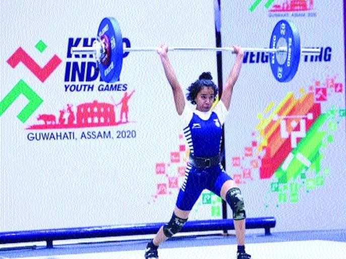 Khelo India competition: Kalyan's Soumya win gold medal   खेलो इंडिया स्पर्धा : कल्याणच्या सौम्याला सुवर्णपदक