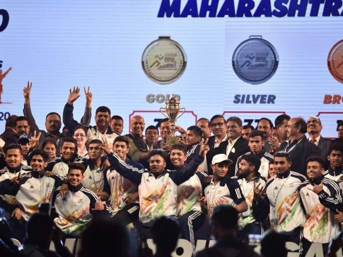 For the second consecutive year in Khelo India, Maharashtra tops the list with 256 medals   खेलो इंडियामध्ये सलग दुसऱ्यावर्षीही २५६ पदकांसहमहाराष्ट्र अव्वल