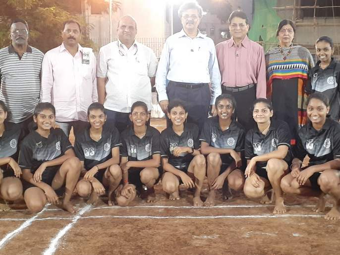 Kho Kho: Sri Samartha won double crown | खो खो :श्री समर्थाला दुहेरी मुकुट