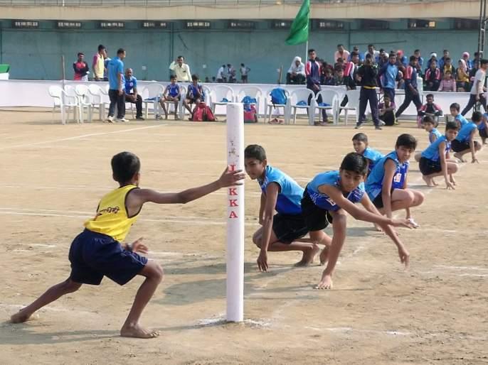 State championship and selection test kho-kho tournament: Pune, Solapur, Mumbai suburb and Sangli's winning opener | राज्य अजिंक्यपद व निवड चाचणी खो-खो स्पर्धा : पुणे, सोलापूर, मुंबई उपनगर व सांगलीची विजयी सलामी