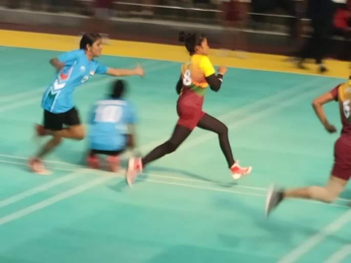 Both teams of India in the final of the South Asian kho-kho tournament   दक्षिण आशियाई खो-खो स्पर्धेच्या अंतिम फेरीत भारताचे दोन्ही संघ