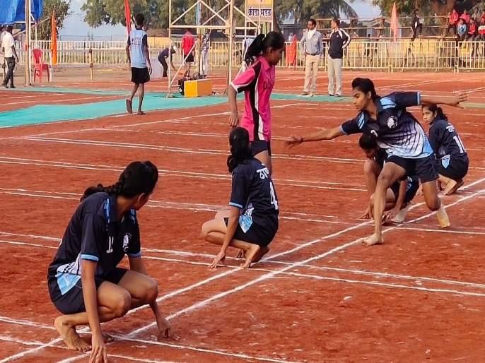 State Level Kho-Kho Competition: Mumbai Suburban, Thane, Mumbai in the quarter-finals | राज्यस्तरीय खो-खो स्पर्धा : मुंबई उपनगर, ठाणे, मुंबई उपांत्यपूर्व फेरीत