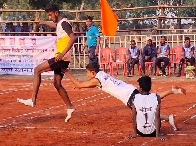State Championship and Selection Trials Kho-Kho: Mumbai Suburbs, Bid, Raigad won first match   राज्य अजिंक्यपद व निवड चाचणी खो-खो : मुंबई उपनगर, बिड, रायगडची विजयी घोडदौड