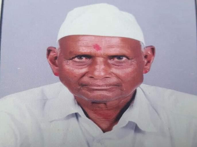 Death of an elderly man while crossing a road in a heavy two-wheeler dash | भरधाव दुचाकीच्या धडकेत रस्ता ओलांडणाऱ्या वृद्धाचा मृत्यू
